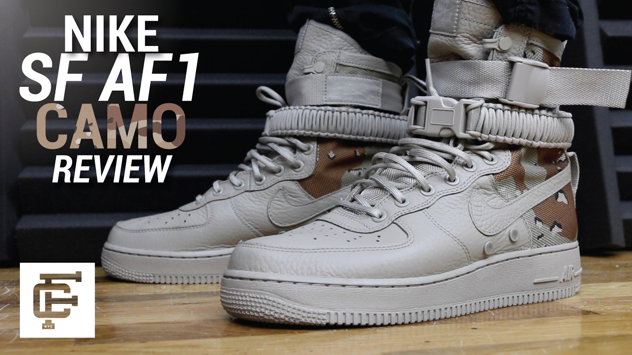 Sf Af1 Camo Review Youtube