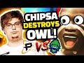 CHIPSA DESTROYS OVERWATCH LEAGUE! - Philadelphia Fusion VS Vancouver Titans!