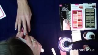 Видео-урок Стикеры для ногтей Dashing Diva