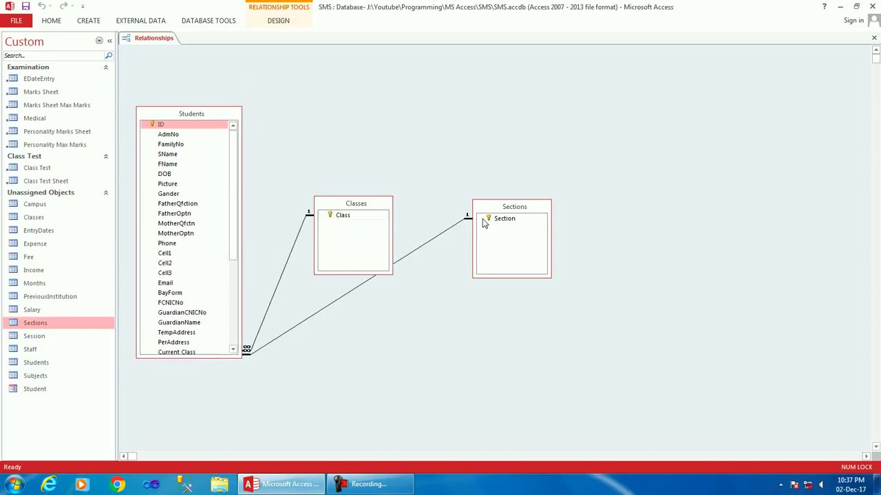 How To Create School Management System In Ms Access Comprehensive