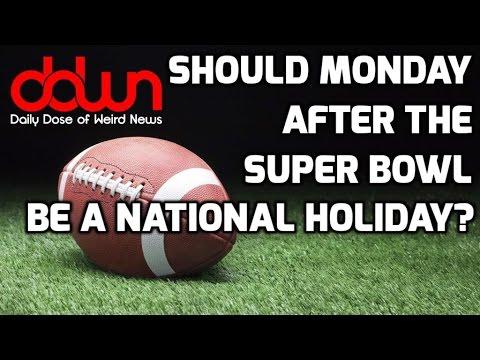 Superbowl Monday holiday? * Drunk pulls himself over! * Rent a room at Graceland! * & MORE!  #DDWN