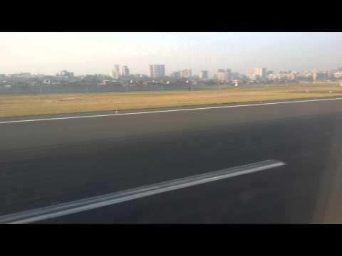 Spicejet landing in Mumbai