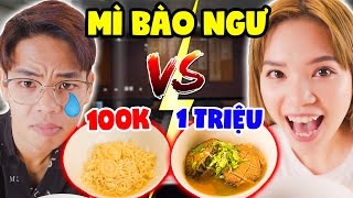 SUPER SMALL 100K NOODLES AND AUSTRALIAN NOODLES 1 MILLION | SUNNY TRUONG