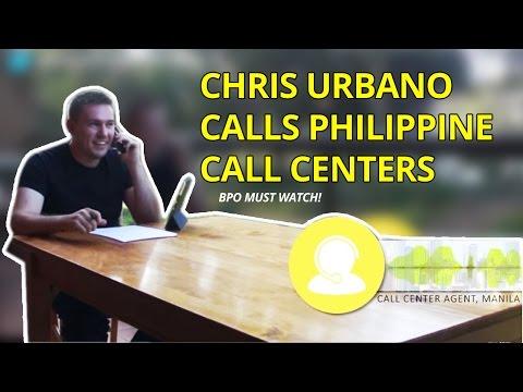 Chris Urbano calls Philippine Call Centers (BPO MUST WATCH!)