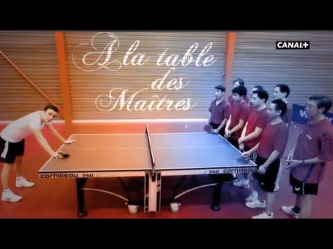 Intérieur Sport A la table des Maîtres avec Simon Gauzy - Canal+ (version sous-titré anglais)