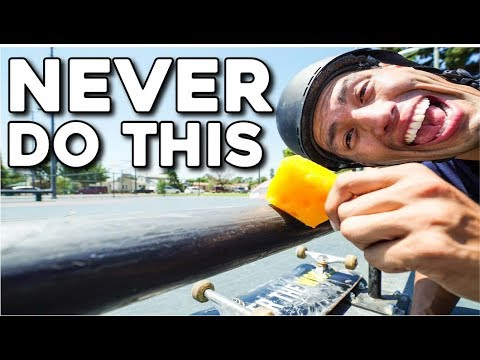 10 THINGS YOU SHOULD NEVER DO AT SKATEPARKS!!!