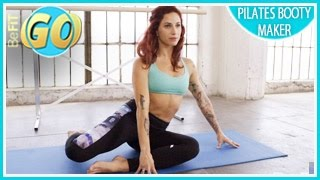 Booty Maker Pilates Workout: BeFiT GO- 10 Min
