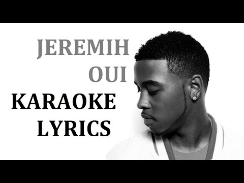 JEREMIH - OUI KARAOKE COVER LYRICS