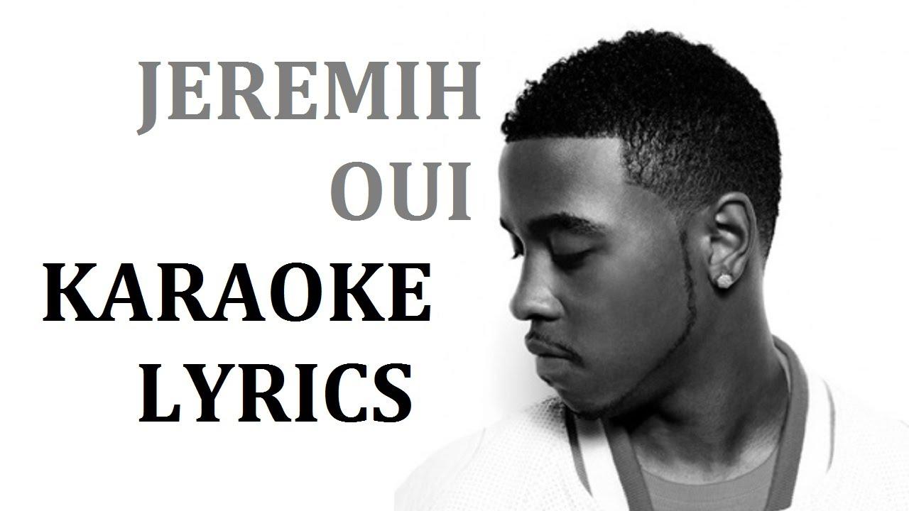 JEREMIH - OUI KARAOKE COVER LYRICS - YouTube