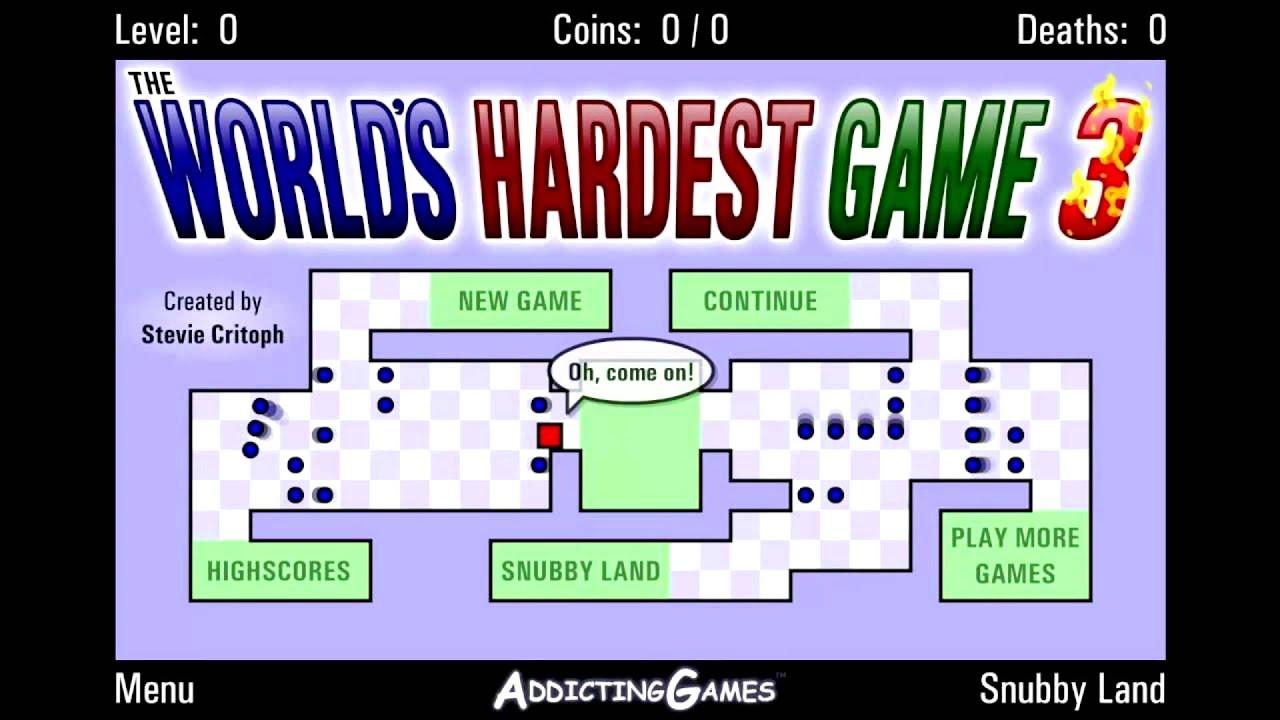 World Hardest Game In The World
