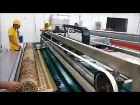 Maquina de limpiar alfombras - YouTube