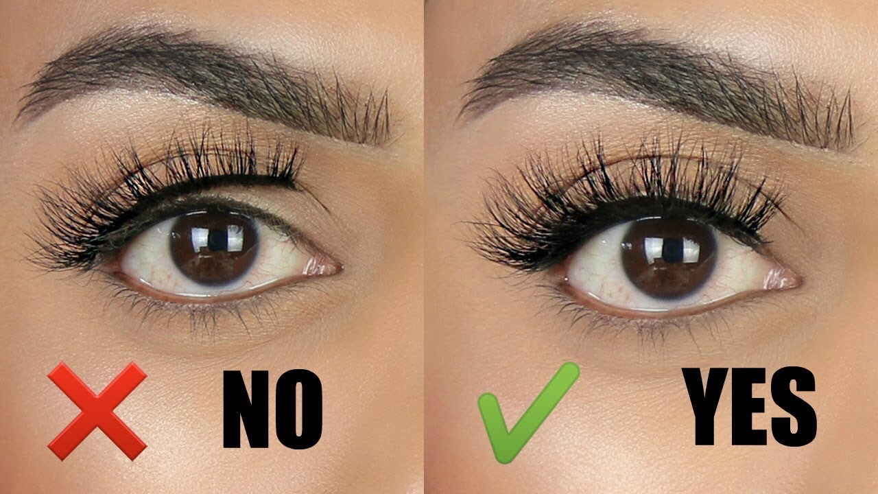 b49f4fa90be How to easily apply lashes with a THICK lash band | Tips & tricks for  beginners