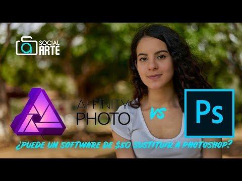 Affinity Photo vs Photoshop - ¿Puede un software de $50 sustituir Photoshop?