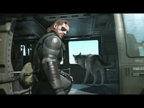 "Metal Gear Solid V - David Bowie ""Diamond Dogs"" Trailer"