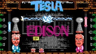 Tesla vs. Edison - NES LONGPLAY - (NES HOMEBREW) (NO DEATH RUN) (COMPLETE PLAYTHROUGH)