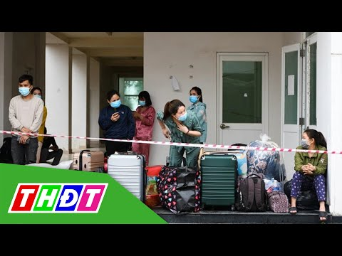 Hải Dương di dời khẩn cấp 1.800 công nhân đến điểm cách ly mới   THDT