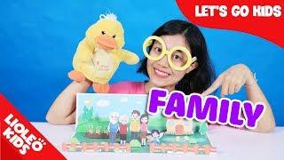 Bé học tiếng Anh về Gia đình - Family members | Finger family | Family song | Family Stories