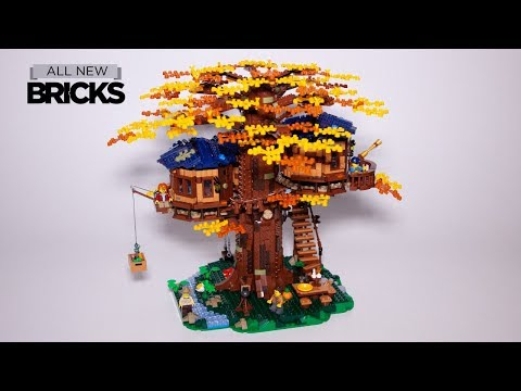 Lego Ideas 21318 Treehouse Speed Build