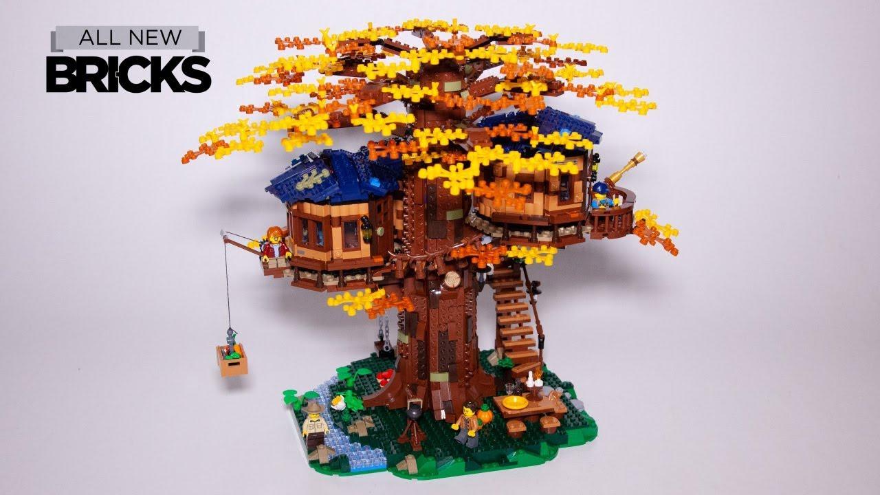 LEAKs レゴ アイデア ツリーハウス 21318 アニメーションビルド
