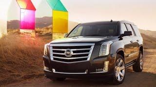 Тест-драйв.  Cadillac Escalade 4. Новинки авто 2015
