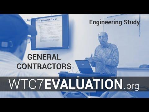WTC 7 Evaluation Engineering Study: AGC Contractors host UAF's Dr. Hulsey Nov 2015