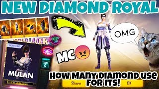 [1 Spins TRICK] New Diamond Royale  For Violet Flame - Garena Free Fire