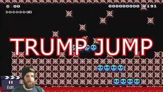 What is a Trump Jump? [SUPER MARIO MAKER]