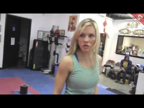 amazing karate woman