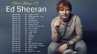 Best Of Ed Sheeran 2019    Ed Sheeran Greatest Hits Full Album   YouTube 360p