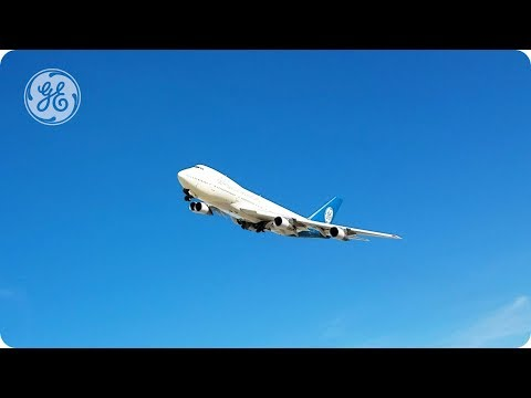 Homeward Bound: GE Aviation's original Boeing 747-100 Flying Test Bed flies into retirement