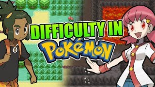 The Importance of Difficulty in Pokemon Games