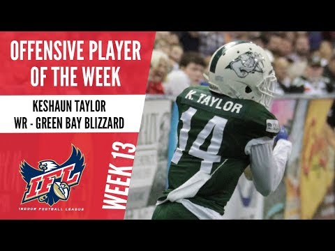 IFL Week 13 Offensive Player of the Week: Keshaun Taylor