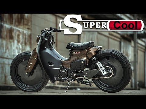 Cafe Racer (Honda Super Cub By Eak K Speed Custom)