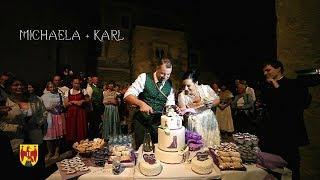 Hochzeit in der Burgenland, Österreich