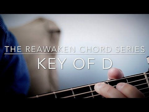 Key of D Chords in Drop D (Guitar Tutorial) - YouTube