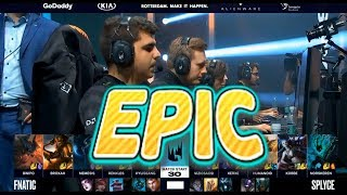 [EPIC] FNC (Hylissang Rakan) VS SPY (Humanoid Azir) Game 3 Highlights - 2019 LEC Spring Playoffs R2