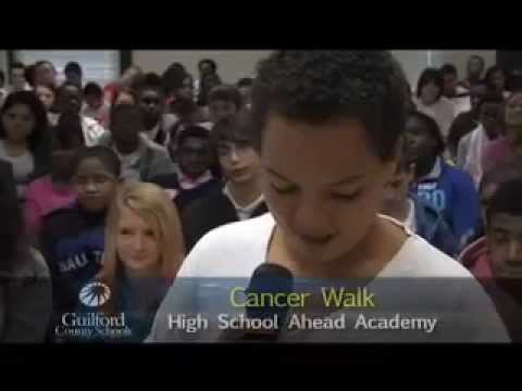 High School Ahead Academy Cancer Walk. Archer Math Night at Food Lion.