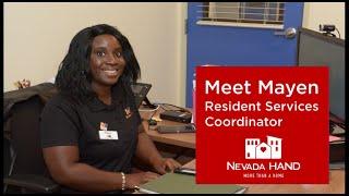 Meet Mayen: Resident Services Coordinator