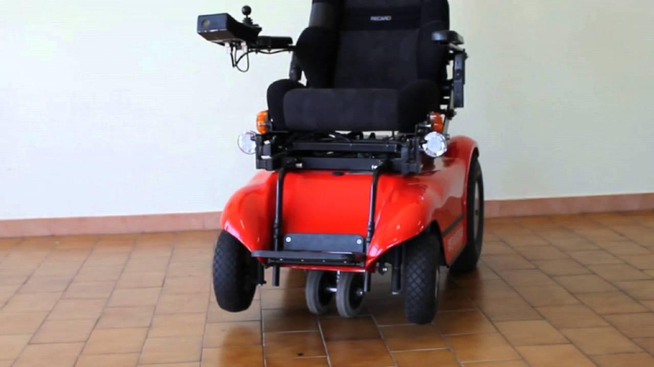 Sedia a rotelle elettrica verticalizzabile usata in vendita da youtube - Sedia a dondolo usata ...