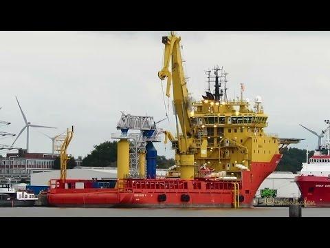 offshore supply vessel EDDA FJORD V7ZA8 IMO 9246114 Emden