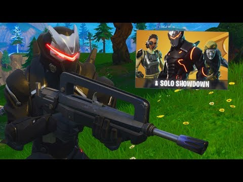 SOLO SHOWDOWN.. 50,000 VBUCK 1st PLACE!  *NEW FORTNITE RANKED MODE*