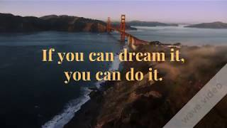 Dream Big STAY FOCUS AND Motivational Quote
