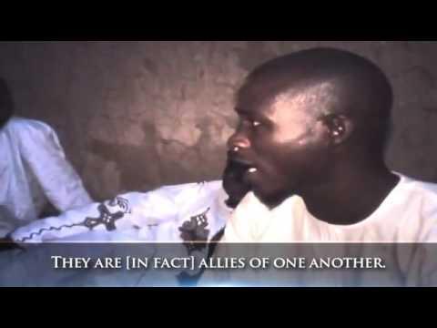 [ Mengharukan ] Reaksi muslim nigeria pertama kali melihat muslim berkulit putih.