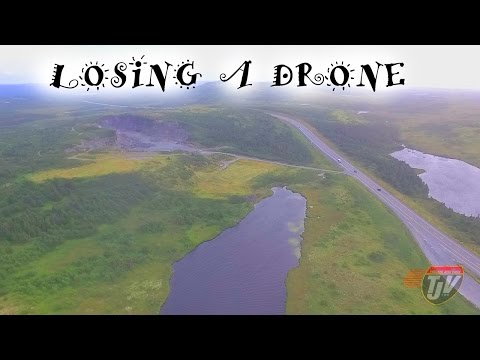 TJV - ALMOST LOST THE DRONE!! - #813
