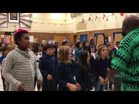 Living Jazz Children's Project - Inside the Classroom at Glenview Elementrary Pt. 1