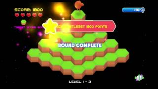 QBert / Q*Bert Rebooted Vita Gameplay