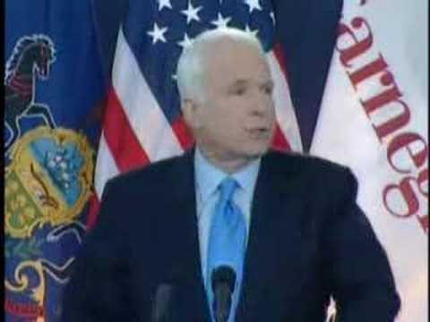 McCain Speaks at Carnegie Mellon Univ. (2 of 4) - 4/15/08
