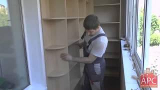 видео как собрать мебель