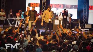 Olamide performs The Money & Who You Epp at #PhynoFest2016  Freeme TV