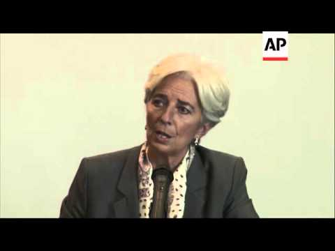IMF chief Lagarde on how peace efforts will affect Colombian economy